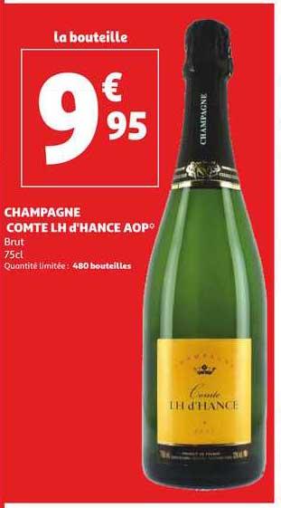 Auchan Direct Champagne Comte Lh D'hance Aop