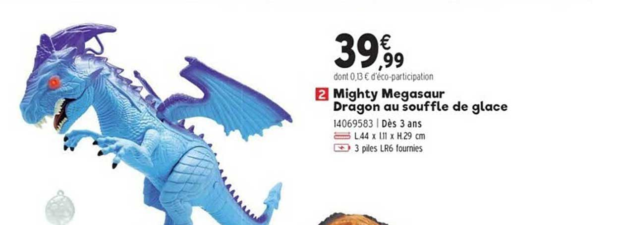 JouéClub Mighty Megasaur Dragon Au Souffle De Glace