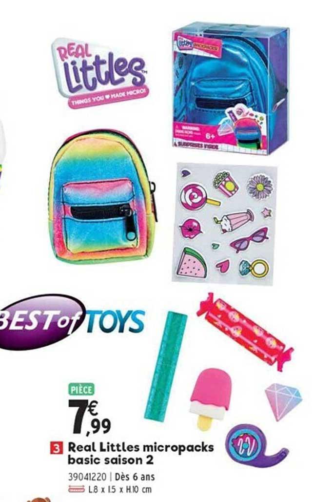 JouéClub Real Littles Micropacks Basic Saison 2