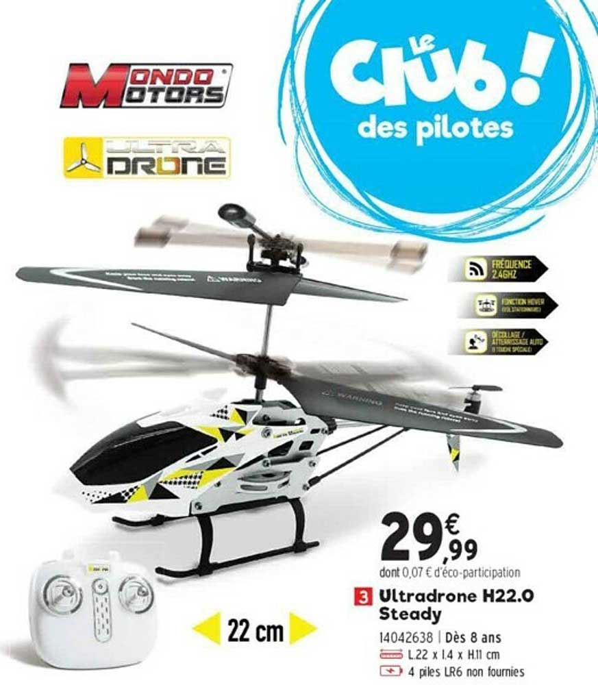 JouéClub Ultradrone H22.0 Steady