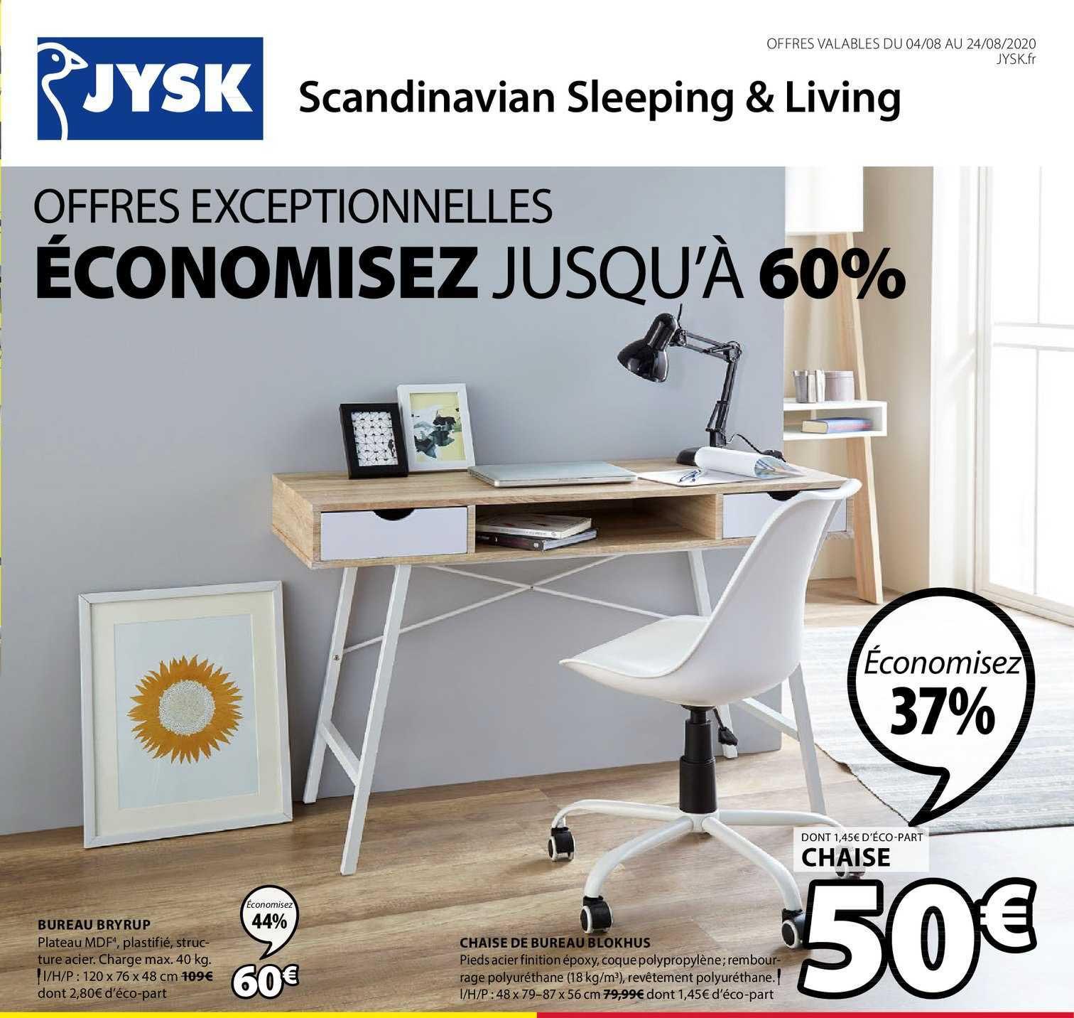 JYSK Bureau Bryrup Chaise De Bureau Blokhus