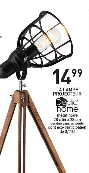 Stokomani La Lampe Projecteur Declic' Home