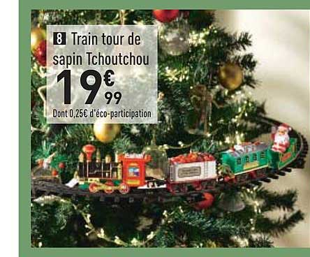 Conforama Train Tour De Sapin Tchoutchou