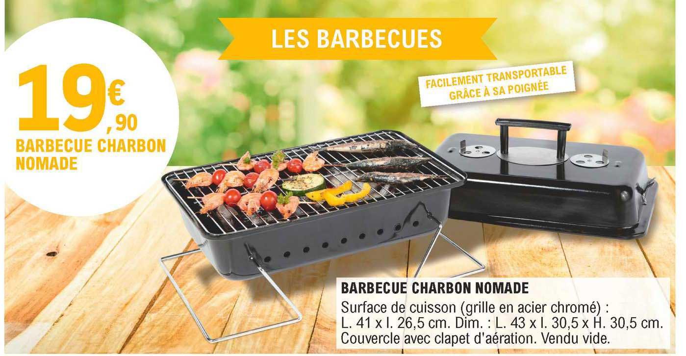 E.Leclerc Barbecue Charbon Nomade