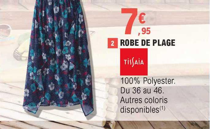 E.Leclerc Robe De Plage Tissaia
