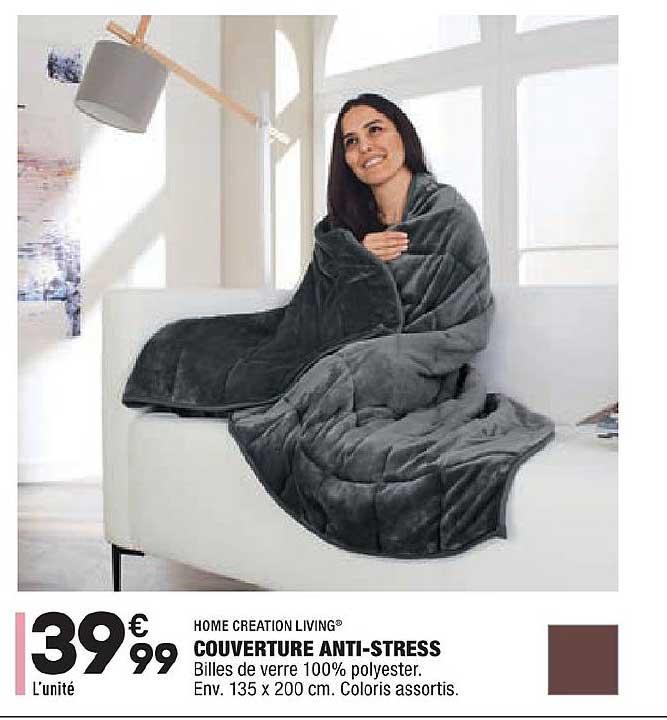 Aldi Couverture Anti Stress Home Creation Living