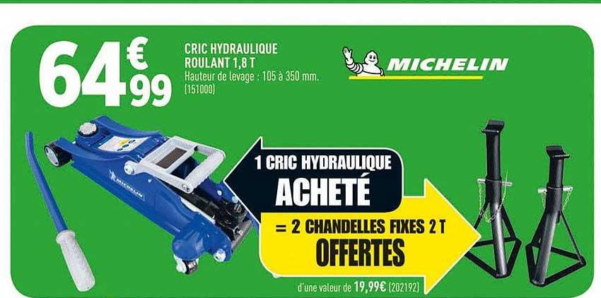 Offre Cric Hydraulique Chez Lidl