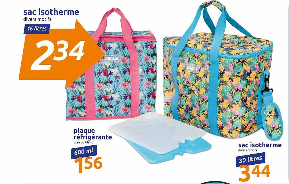 Action Sac Isotherme