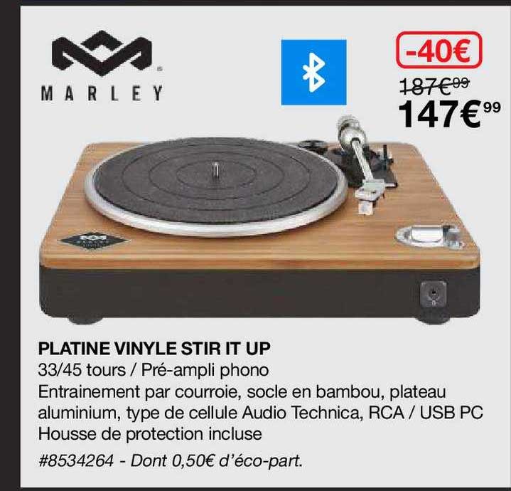 Costco Platine Vinyle Stir It Up Marley