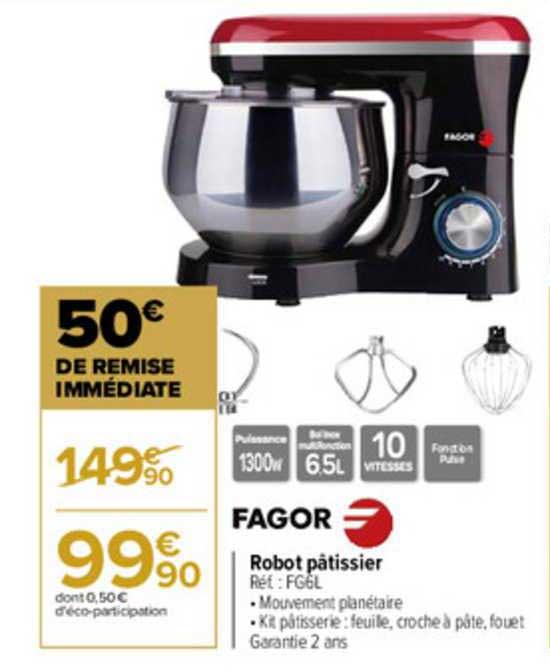 Carrefour Robot Pâtissier Fagor