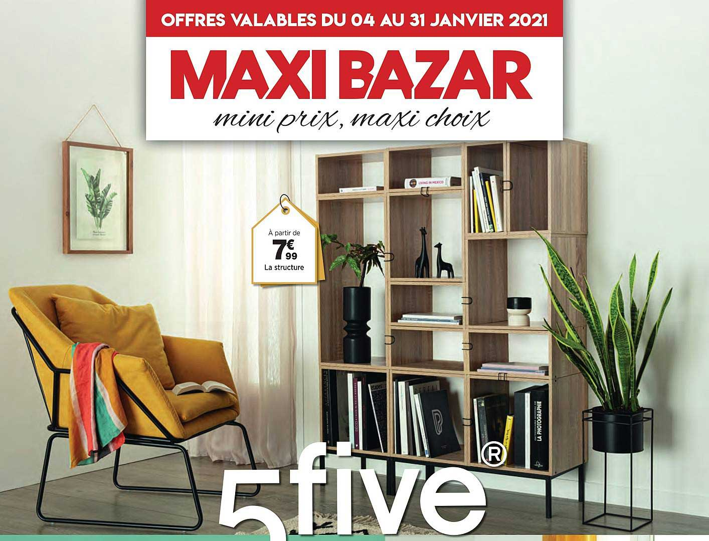 Maxi Bazar La Structures 5five