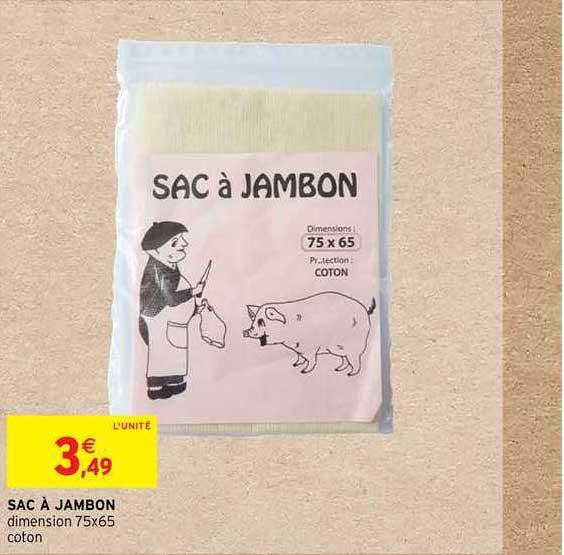 Intermarché Contact Sac à Jambon
