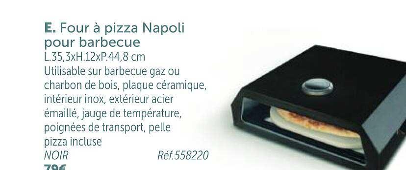 GiFi Four à Pizza Napoli Pour Barbecue