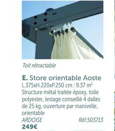 GiFi Store Orientable Aoste