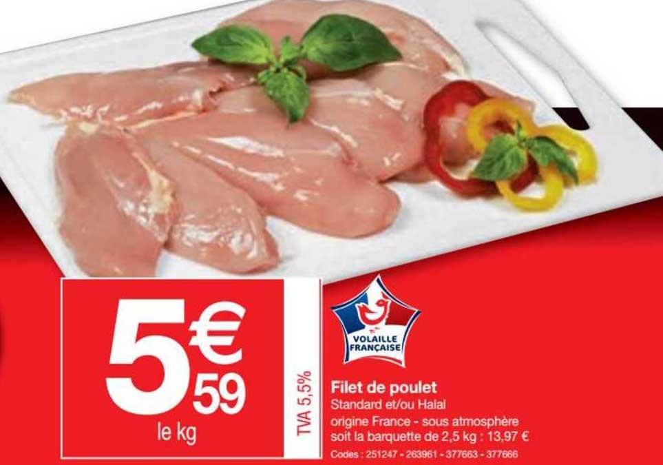 Promocash Filet De Poulet