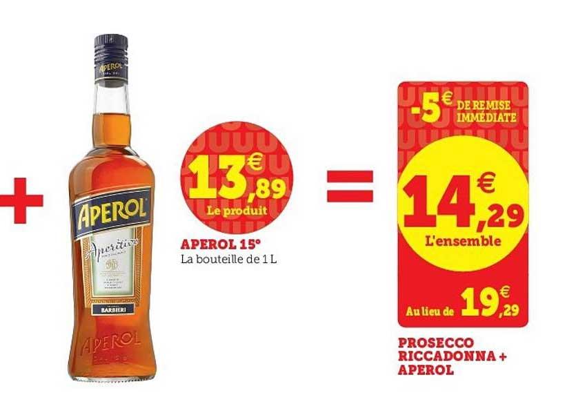 U Express Aperol 15°