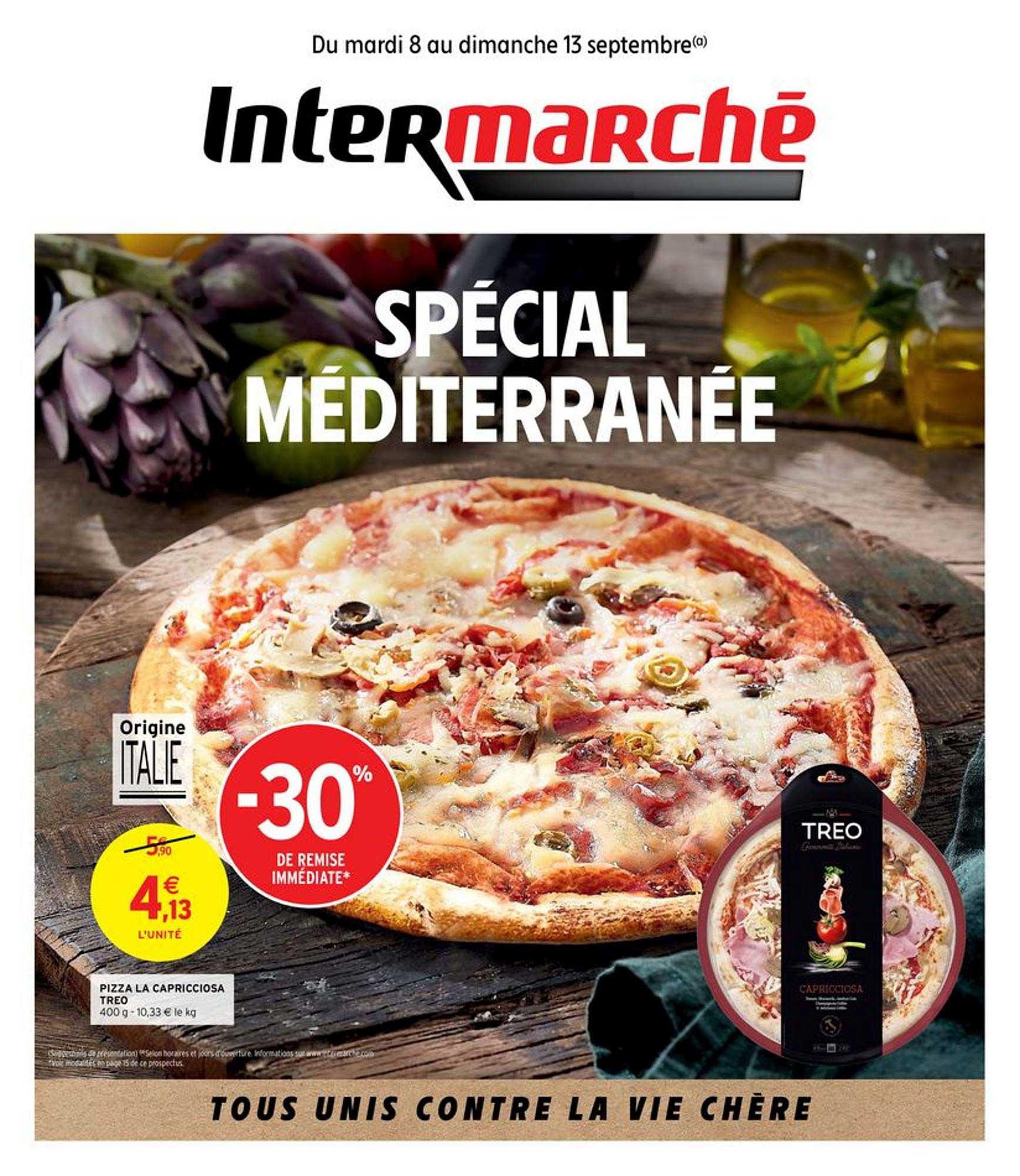 Intermarché Pizza La Capricciosa Treo