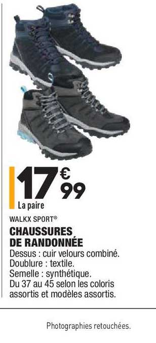 Aldi Chaussures De Randonnée Walkx Sport
