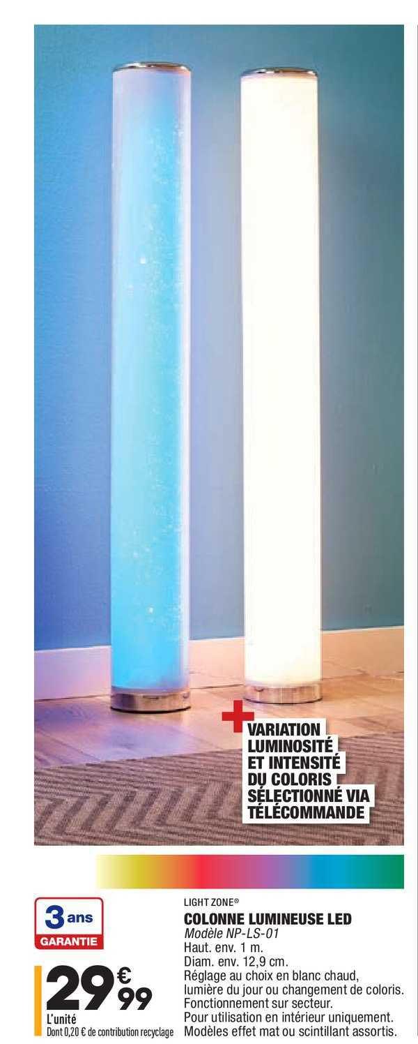 Aldi Colonne Lumineuse Led Light Zone