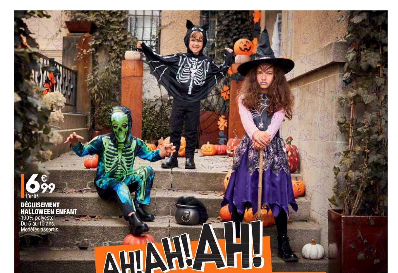 Aldi Déguisement Halloween Enfant