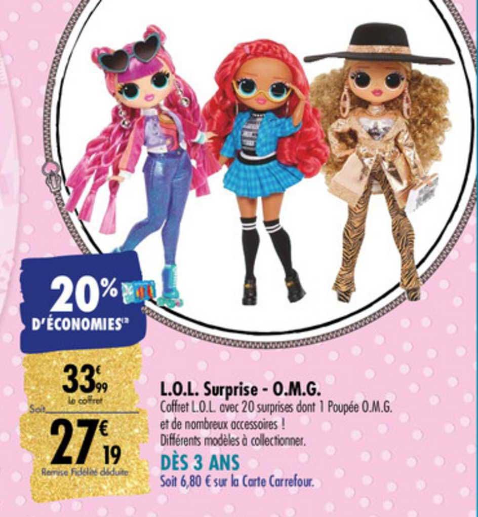 Carrefour L.o.l. Surprise O.m.g.