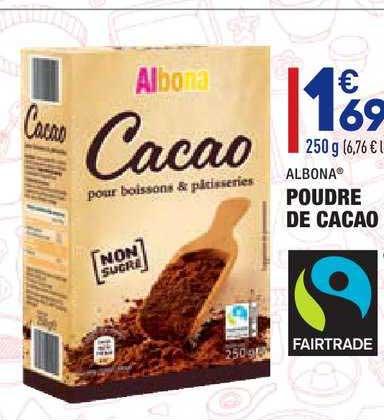Aldi Poudre De Cacao Albona