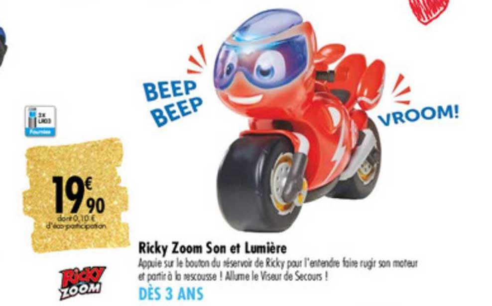 Carrefour Ricky Zoom Son Et Lumière