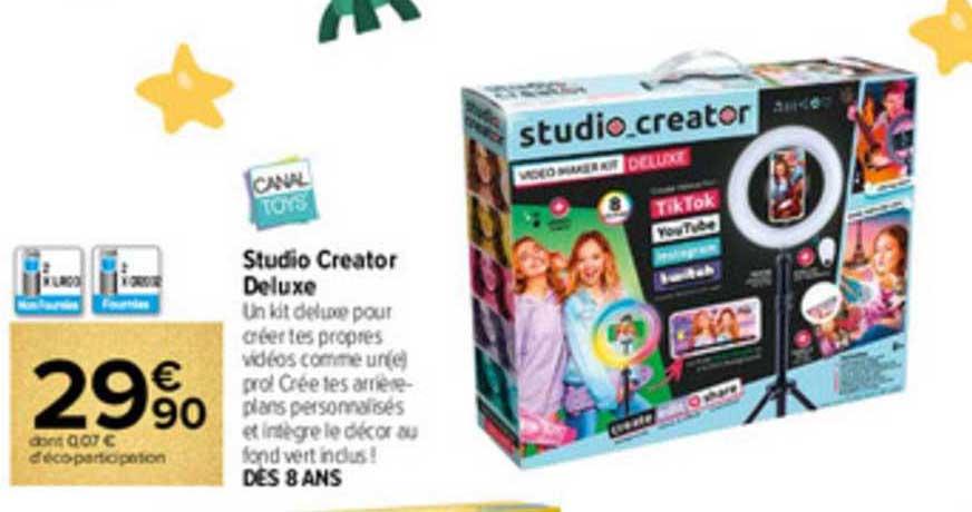Carrefour Studio Creator Deluxe