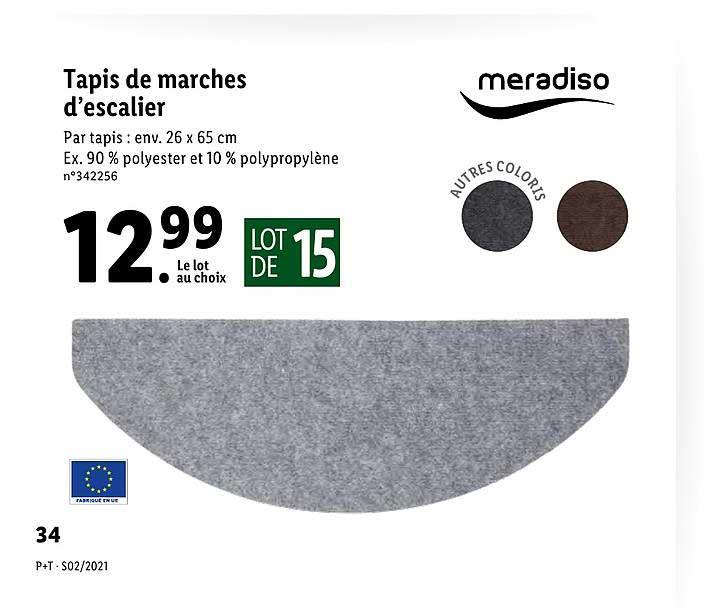 Lidl Tapis De Marches D'escalier Meradiso