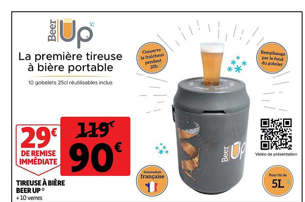 Auchan Tireuse à Bière Beer Up