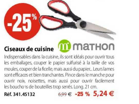 Mathon Ciseaux De Cuisine