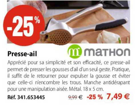 Mathon Presse-ail