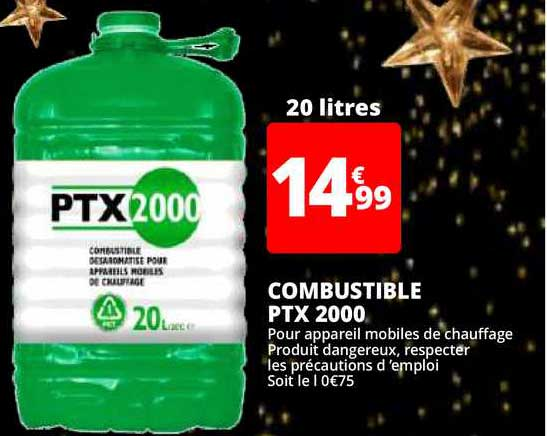 Auchan Direct Combustible Ptx 2000