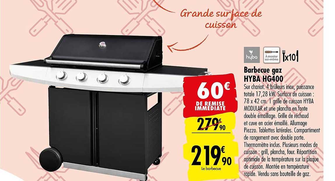 Carrefour Barbecue Gaz Hg400 Hyba