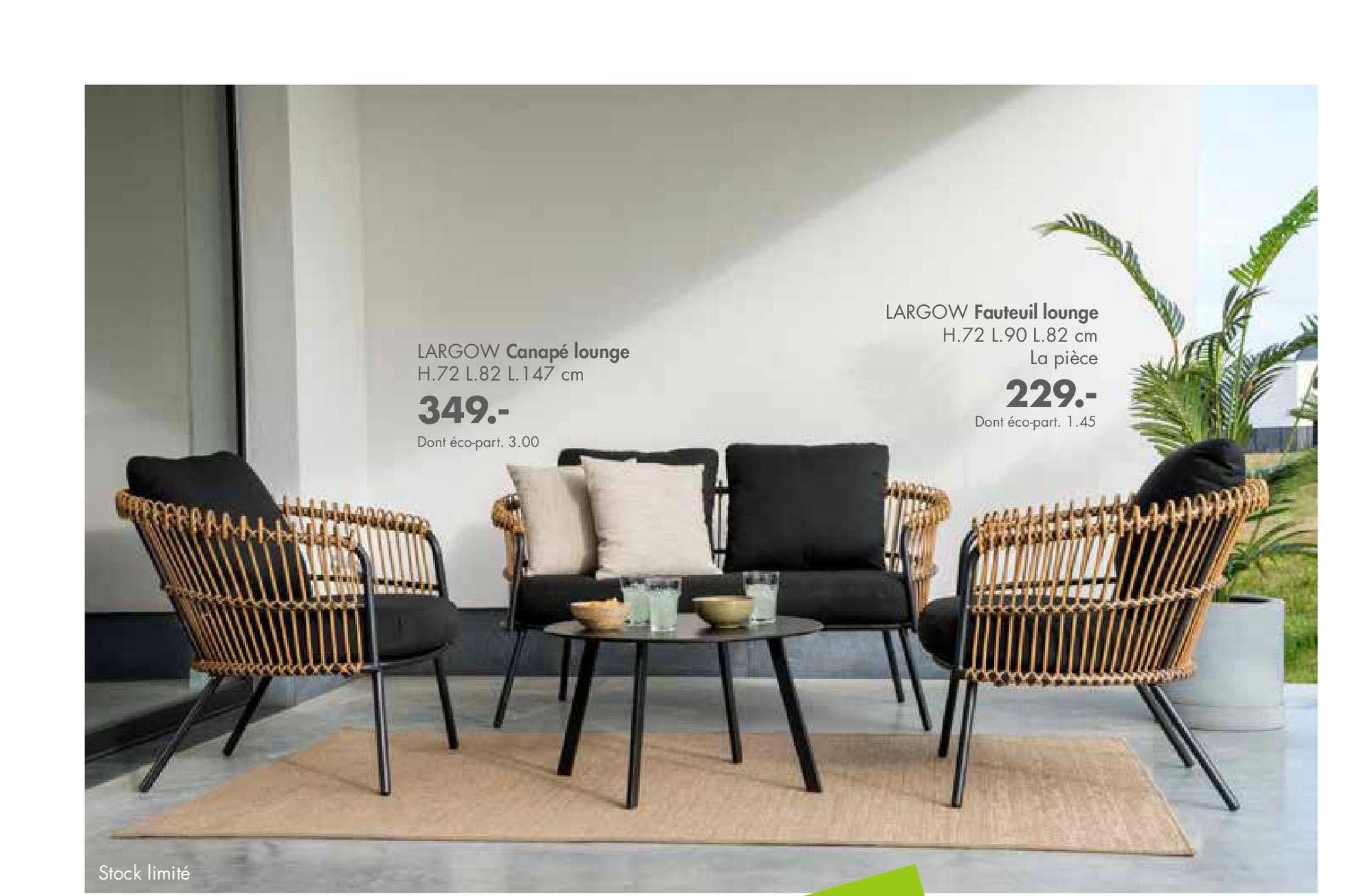 Casa Canapé Lounge Largow