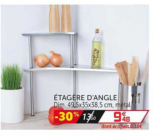 Offre Etagere D Angle Chez Gifi