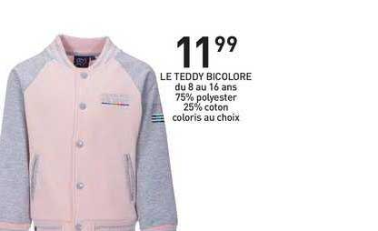 Stokomani Le Teddy Bicolore