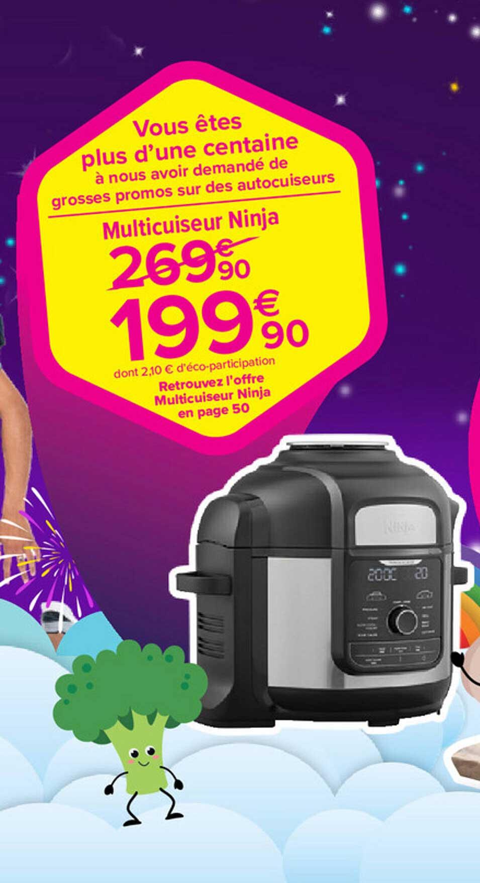Carrefour Market Multicuiseur Ninja