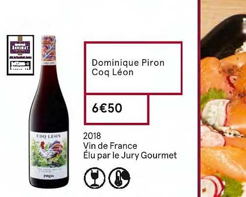 Monoprix Dominique Piron Coq Léon