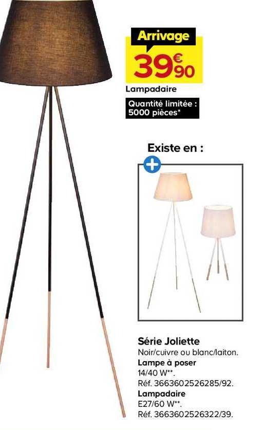 Castorama Lampadaire Série Joliette
