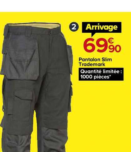 Castorama Pantalon Slim Trademark