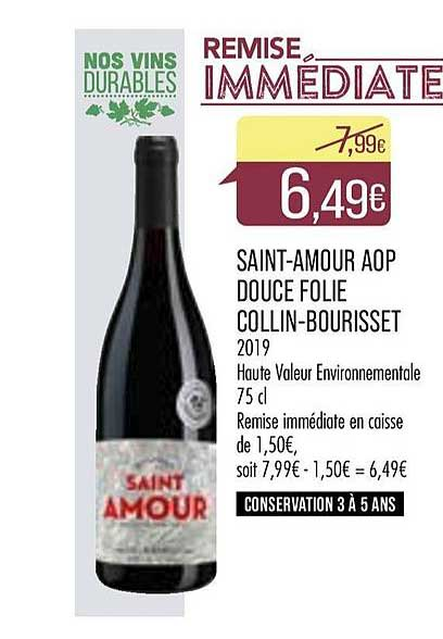 Match Saint Amour Aop Douce Folie Collin Bourisset