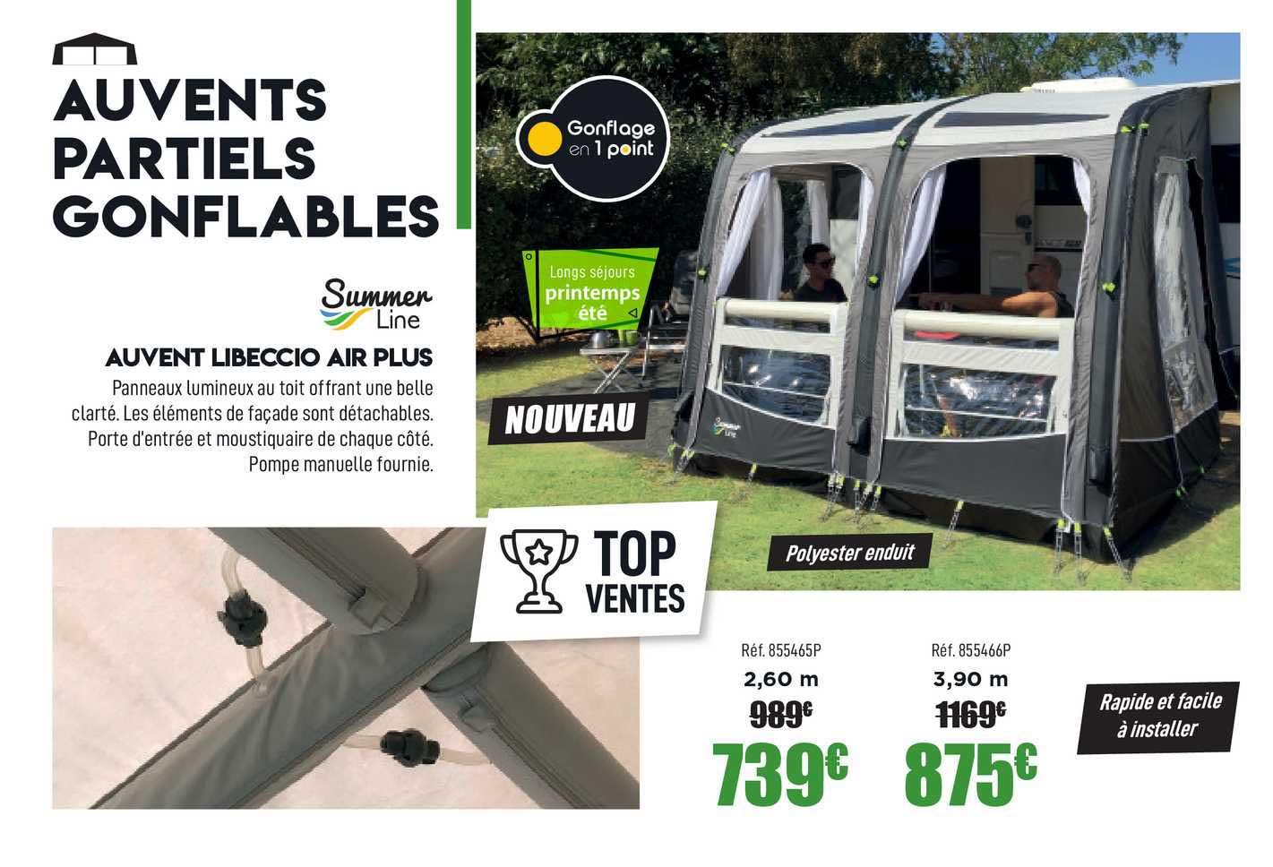 Narbonne Accessoires Auvents Libeccio Air Plus Summer Line