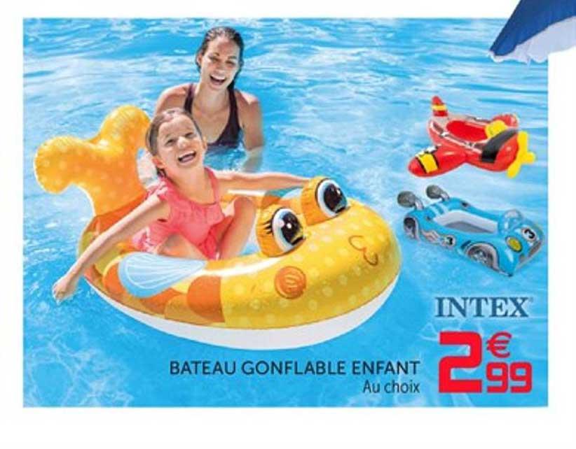 Offre Bateau Gonflable Enfant Intex Chez Gifi