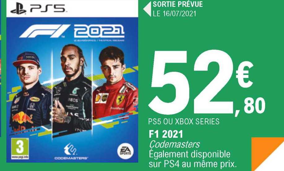 E.Leclerc Ps5 Ou Xbox Series F1 2021
