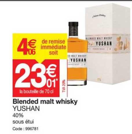 Promocash Blended Malt Whisky Yushan