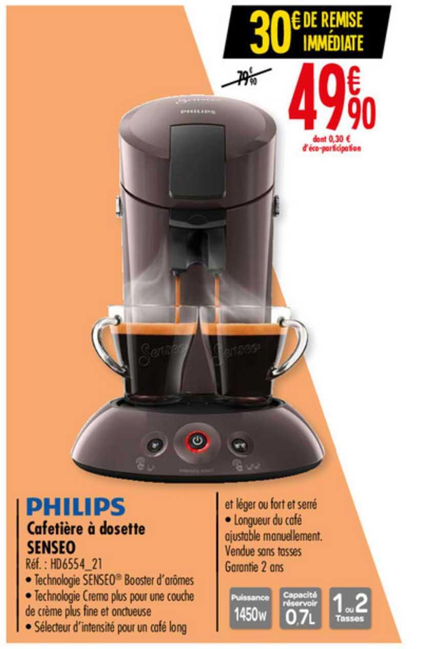 Offre Cafetiere A Dosette Senseo Philips Chez Carrefour