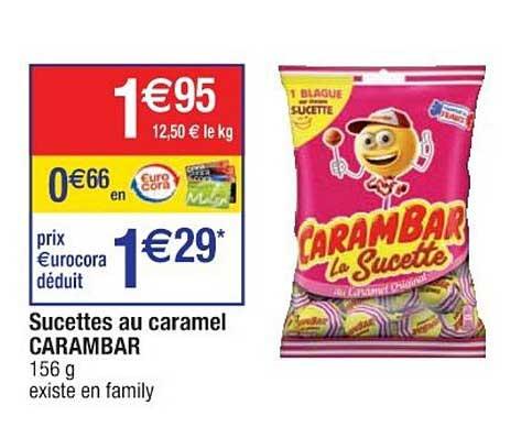 Cora Carambar La Sucette Au Caramel