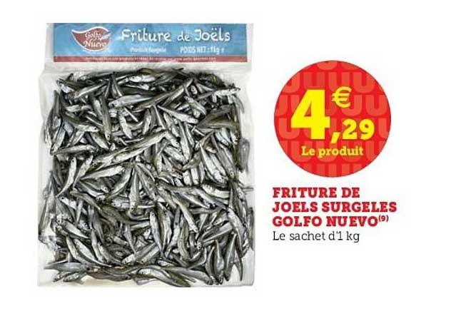 U Express Friture De Joels Surgelés Golfo Nuevo