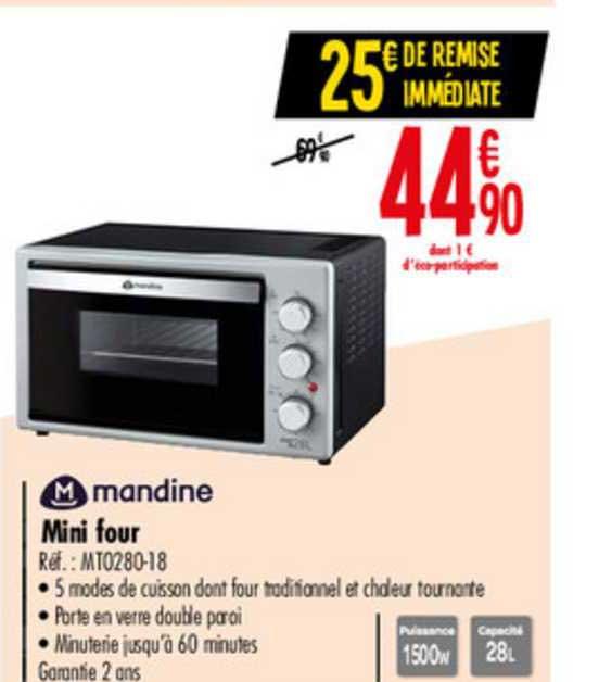 Carrefour Mini Four Mandine